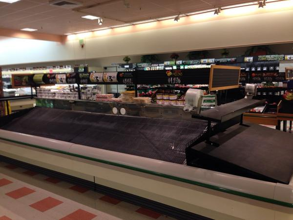 Produce is looking scarce at #MarketBasket #SaveMB http://t.co/Y8LB77kdX9