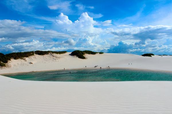 美しすぎる!彼と行きたい♡摩訶不思議な、純白の大砂丘!