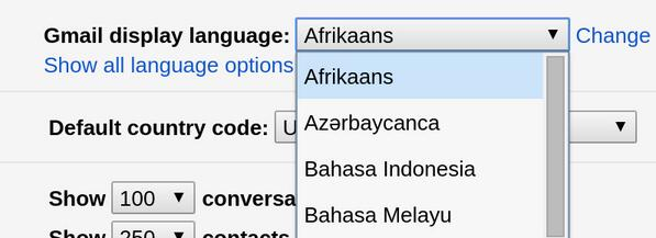 Starting today, 13 new languages including Afrikaans, Zulu are joining the Gmail family. http://t.co/bok6nzxwbi http://t.co/EfVpkDiEhx