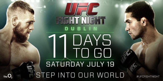 RT @UFC_UK: 11 days to go until #UFCDublin!! Remember you can watch the whole thing live on @UFC_FightPass http://t.co/ehMwzyuK9I http://t.…