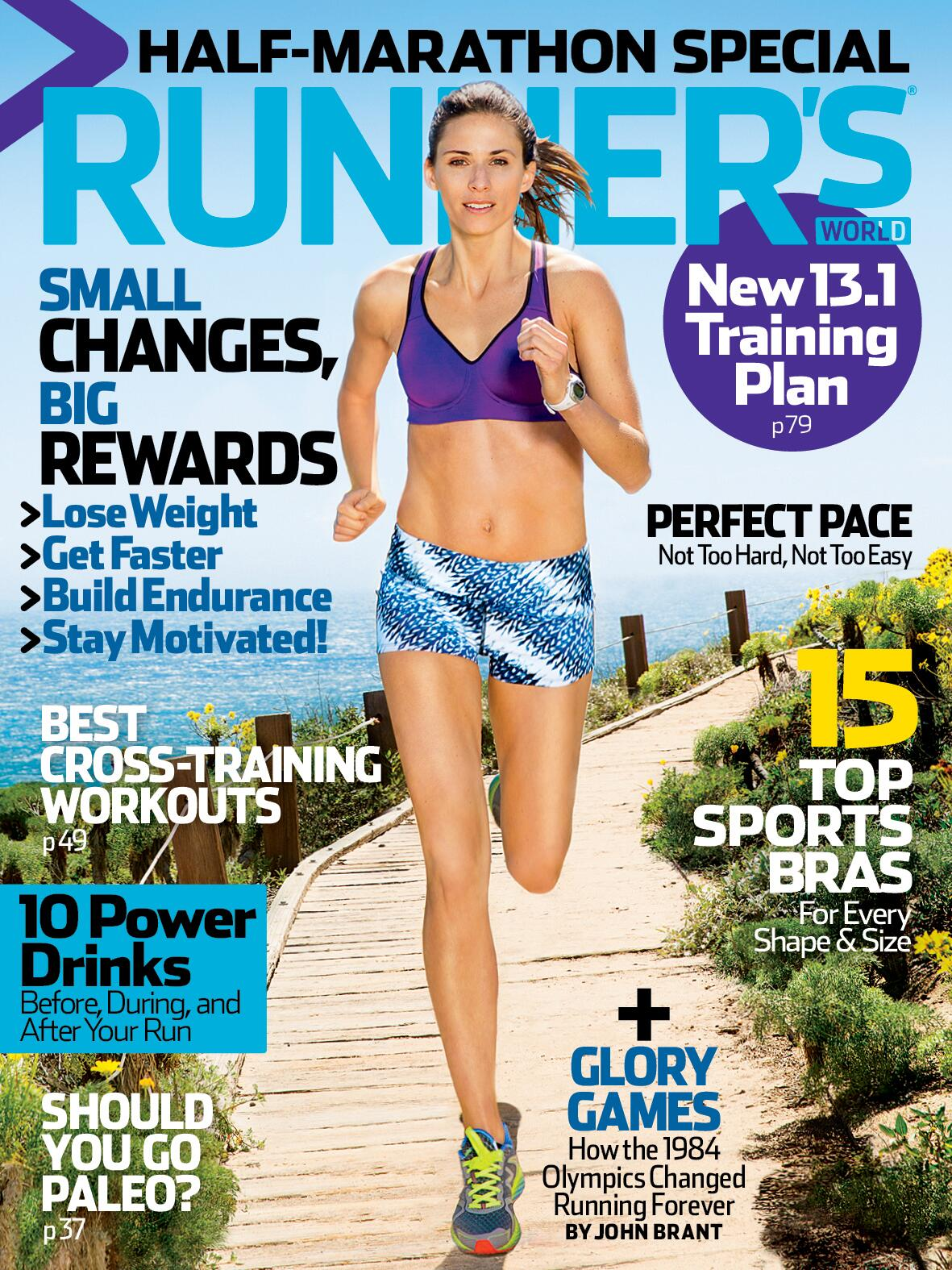 "The August ""Half Marathon Special"" issue is on newsstands today! RT if you're excited! http://t.co/qCCtWV5Qkk"