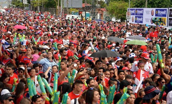 BsC76EjCEAAeX1M Unbeatable Costa Rica return home to heroes welcome