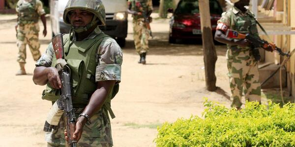 How Nigerian Soldiers Dug A Hole Into House Of Slain Boko Haram ...: