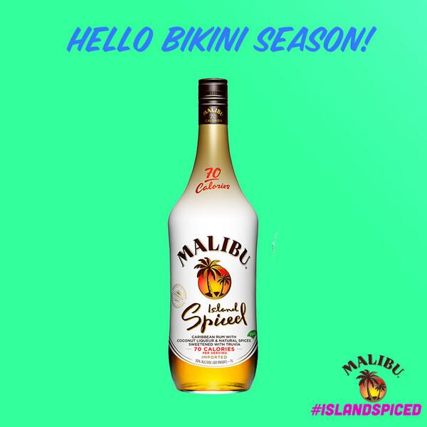 We're whipping up our fave beach cocktails with beach-bod-friendly #IslandSpiced. http://t.co/piQPL1a3t1
