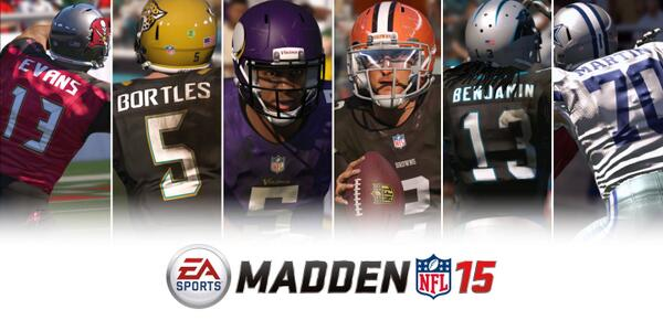These guys stepped up to the pros. Isn't it time you did the same? Pre-order #Madden15 today! http://t.co/AfyshW1Fot http://t.co/T5SRY30Evv