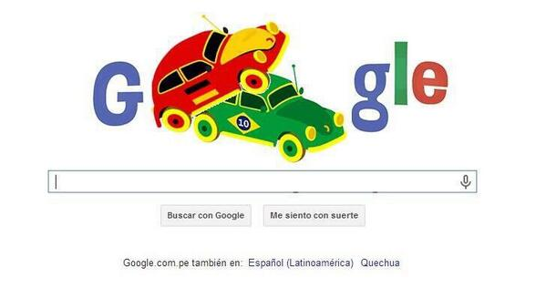 Liss Pereira (@lisspereira): Por el Doodle debimos sospecharlo http://t.co/9jc3t2feCM