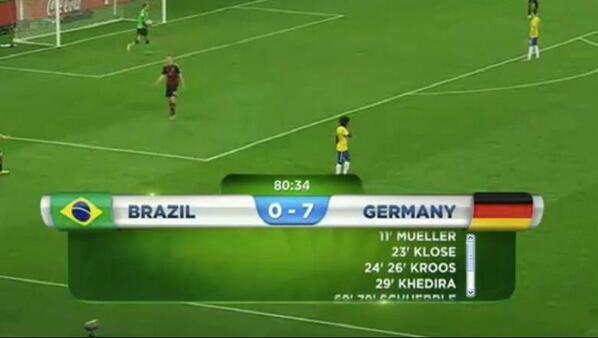 - ¿Cuánto lugar dejo para los goles? ¿Siete? - Pero no… Dejá 5. ¿Quién va a hacer 7 goles en un partido del mundial? http://t.co/pZi0aBlrgd