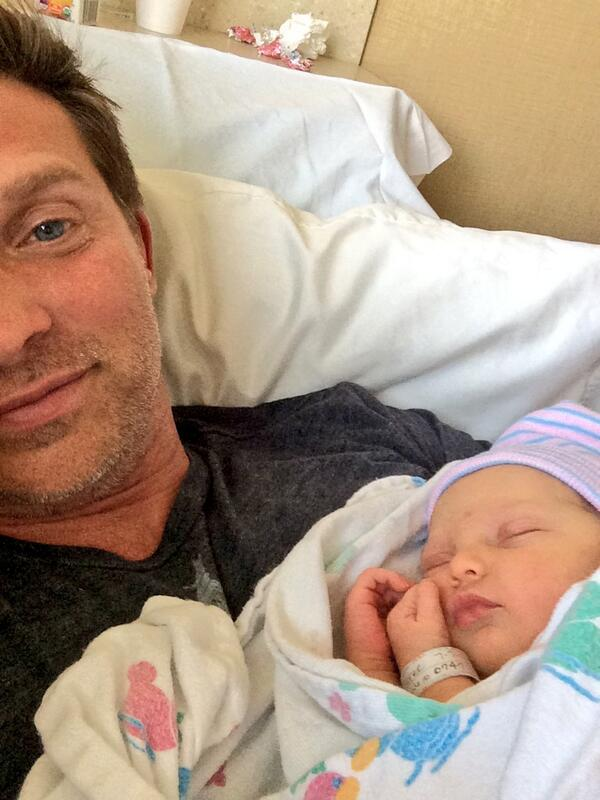 #PortChuckBaby RT @1SteveBurton: Me and my sleeping beauty. Brooklyn Faith. I love you! http://t.co/mdQaZ2ng01