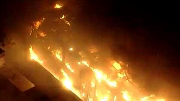 Incendios y saqueos en Brasil tras la humillante derrota http://t.co/eEKJl27Zao http://t.co/gE65jh7j6U