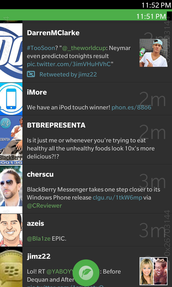 Completely optional colorized floating compose! Coming to @Blaq on #BlackBerry OS 10.3. http://t.co/0LspqPZx3u