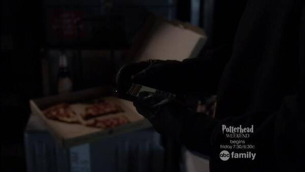 A is BACK! Now we go back to weekly threats...#PLL100 http://t.co/VvyvvjtMyy