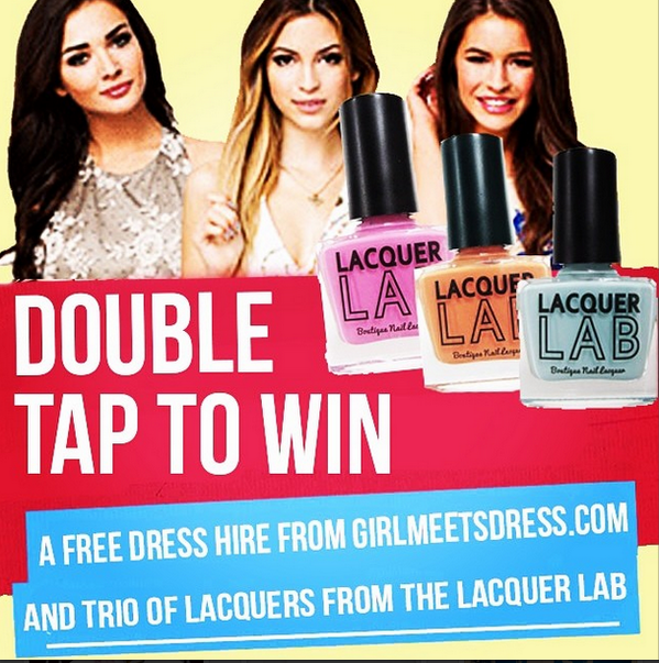 #COMPETITION!! Follow @girlmeetsdress & @thelacquerlab on #Instagram + double tap to win- http://t.co/pVA0Ioj2Is #GMD http://t.co/w653J1NyBi