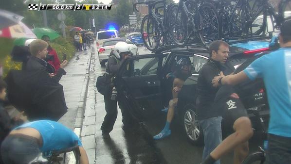 Chris Froome has abandoned the Tour de France http://t.co/gO6g0j4wMb