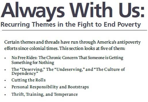 We look at 5 themes in US #antipoverty efforts since colonial times in latest essay series || http://t.co/D4t18xPUJq http://t.co/sdGUoWrVYE