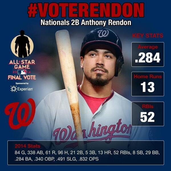 #VoteRendon http://t.co/pEXTw5E87Q