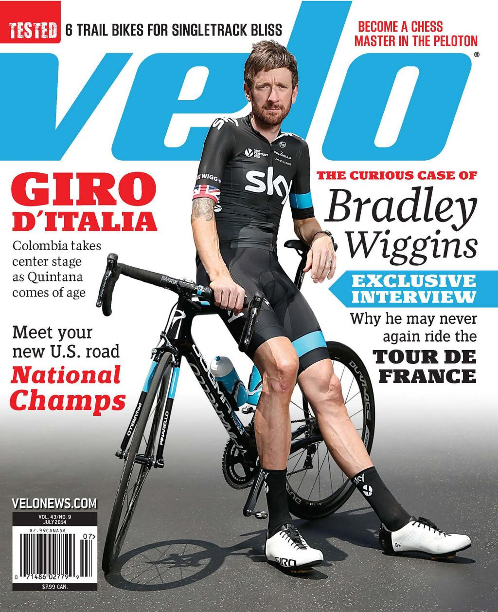 Those questioning Sky's decision to leave Brad Wiggins off its Tour squad will want to pick up July issue of Velo Mag http://t.co/aylhbbv7RQ