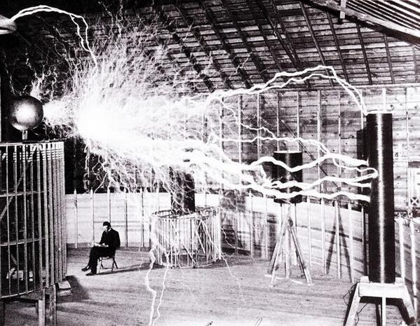 Happy birthday to Nikola Tesla, born 158 years ago today. http://t.co/14zj9o6ljc
