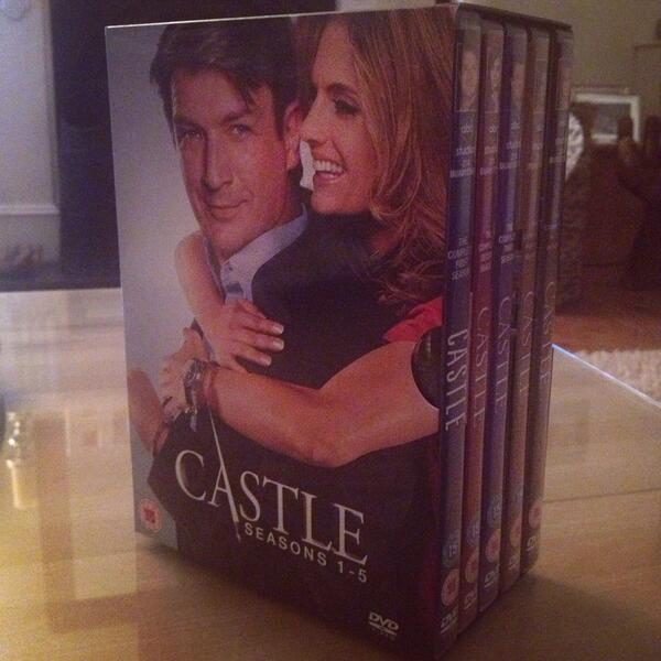 people who say money can't buy happiness obviously haven't bought the castle season 1-5 boxset