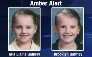 UPDATE: The Iowa Amber Alert for Mia and Brooklyn Gaffney has been canceled. The girls were found safe. http://t.co/hPOOzGOh0k