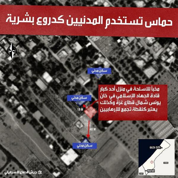 حماس تستعمل مواطنيها كدروع بشرية من اجل مخططاتها الارهابية ومن ثم تخلص المبررات لاقناع الاخرين بأفعالها الخسيسة http://t.co/JW7TeGXbNi