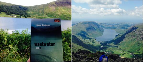 Jáck Howson. (@jackrabb1t): At Wastwater. Reading Wastwater by @StephensSimon @RoyalCourt. http://t.co/loit6cbAfa