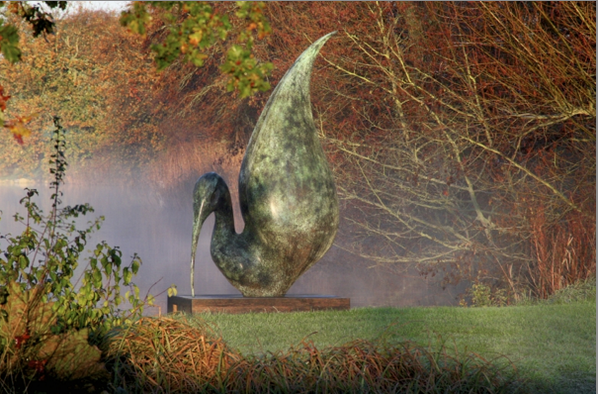 Amazing sculptures by @SimonGudgeon - Large or small they're works of #art! http://t.co/V3rgR4oBbl