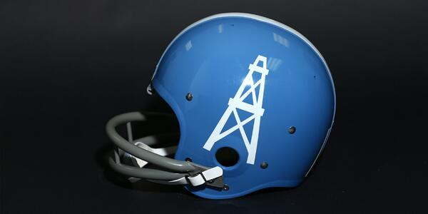 Our AFL helmet history series continues with a look back at the Houston Oilers | #tbt READ: