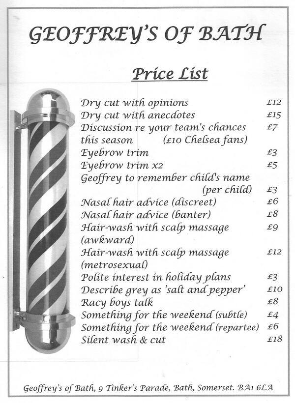 Need a haircut? Try Geoffrey's of Bath http://t.co/fC4TNFX75Z