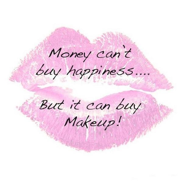 Makeup = Happiness! <3 Am I right ladies? Retweet if you agree! ;) http://t.co/Gi17LrLbnY