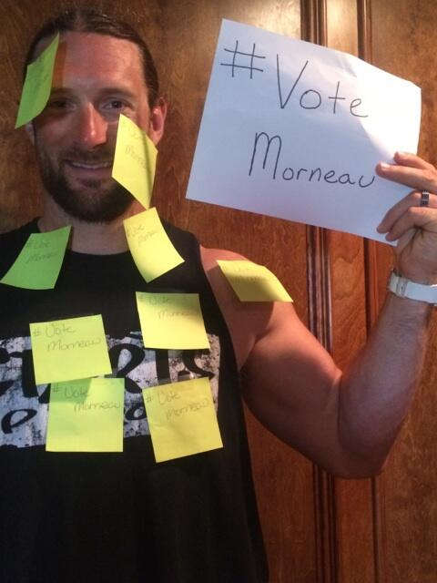 Doesn't matter how you do it, how many times you do it..... Bottom line #votemorneau http://t.co/aRPdZNhMQu