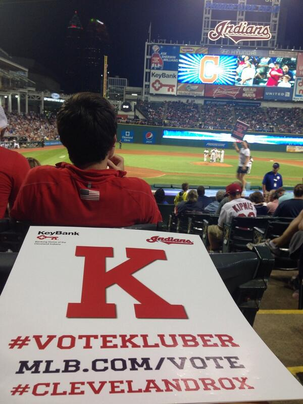 Only 2 hours left to #VoteKluber to the ASG. RT this and my last 2 Tweets to enter the contest. http://t.co/9Ic5SUg8Ch