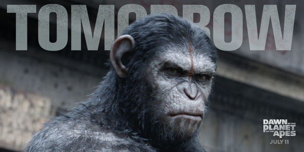 It's almost here! Tag who you'll be taking with you to see #DawnofApes tomorrow. http://t.co/XBO3aajwM2 http://t.co/sk9fCJy7Q2