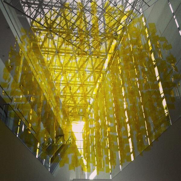 adnCULTURA (@adnCULTURA): Obra de Julio #LeParc en @museomalba. Inaugura mañana #arte http://t.co/M2SS4SePTF