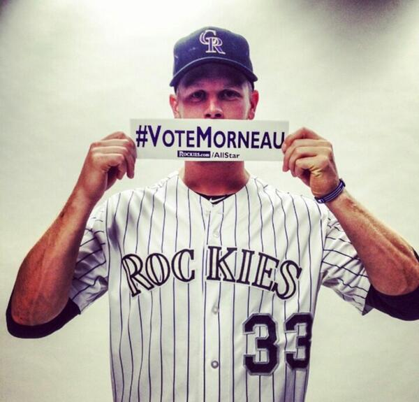 SHOW your love and #Retweet  #VoteMorneau #VoteGrich  #Angels #Rockies #MLB #Baseball #Canada http://t.co/u7rrfMDuKS