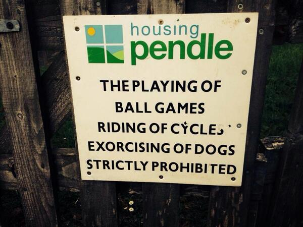 The satanic poodles of Pendle will be left be! http://t.co/QL7Xaevj4j
