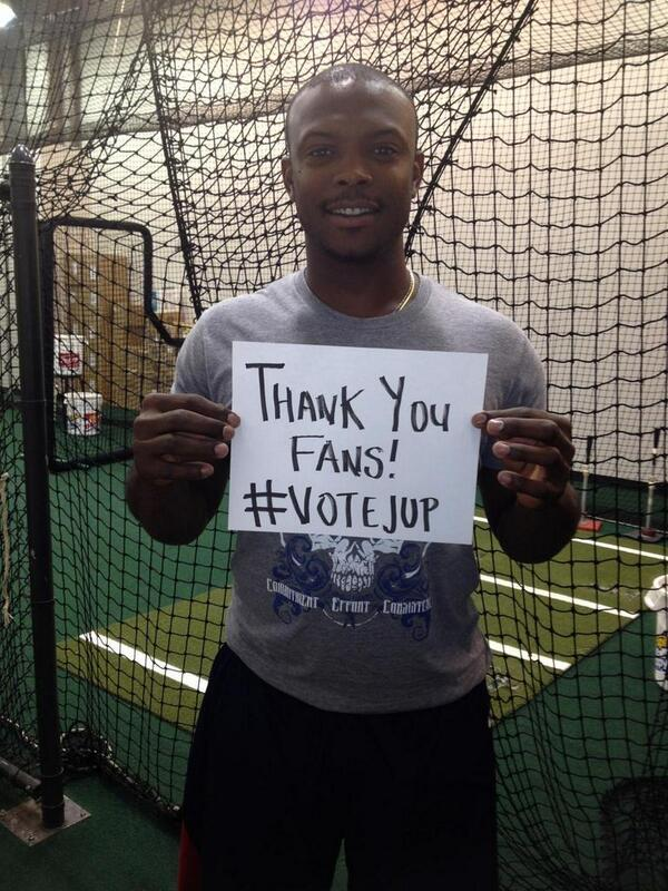 One hour left. Win or lose I want to say thank you for the support and love.  Means a lot to me. #VoteJUp http://t.co/LyS2rBdp2V