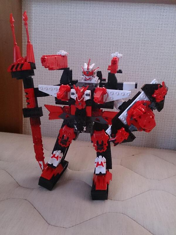 テンカイナイト玩具が楽し過ぎる(^^)馬戦車使ってブレイヴン超強化ww