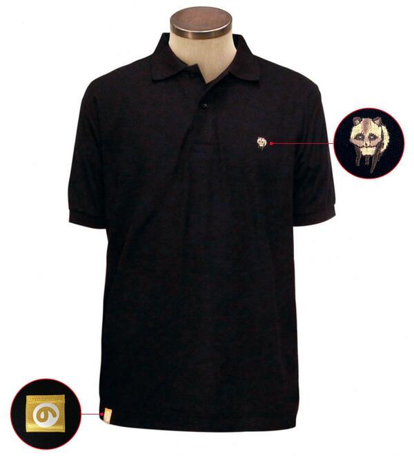 コミケで販売!【具】ポロシャツのデザイン。全体的に「こんな感じになりました!!#なのん