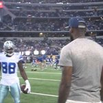 RT @DezBryant: Congrats to my man @KingJames on returning to Clev. No matter where he is, he always remains a @DallasCowboys fan! http://t.co/2CTBHrh5pZ