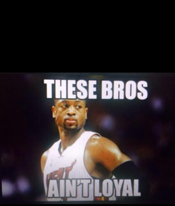 Dwayne Wade Be Like ....