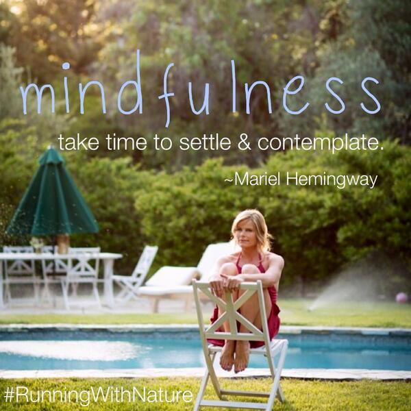 Wise advice @MarielHemingway #mindfulness #quote http://t.co/JJMUvNKmYs