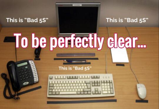 Its Awful When The Person Teaching Lean Doesnt Get The Bad 5s Joke on Office Cubicle Layout Ideas
