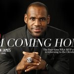 RT @SInow: EXCLUSIVE: Im Coming HOME by @KingJames http://t.co/3dAzWO3ZXH (via @SI_LeeJenkins) http://t.co/wIxfyojPIQ