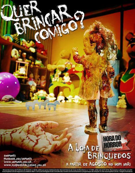 A brincadeira começa agora: http://t.co/keXh8qMCrX #HoradoHorror #ALojadeBrinquedos #13aHora http://t.co/XJmMJDoSIc