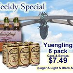RT @FHWineSpirits: Providence RI - Yuengling TIME!!! ONLY $7.49 6 pk Fed Hill Wine & Spirits 125 Atwells Under the Arch! FREE Parking http://t.co/r6guUwHezH