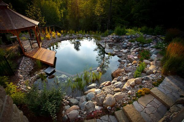 Natural Swimming Pools: More Beauty, No Chemicals: http://t.co/Mn52TT0s3Y http://t.co/PWSHqwB1c7