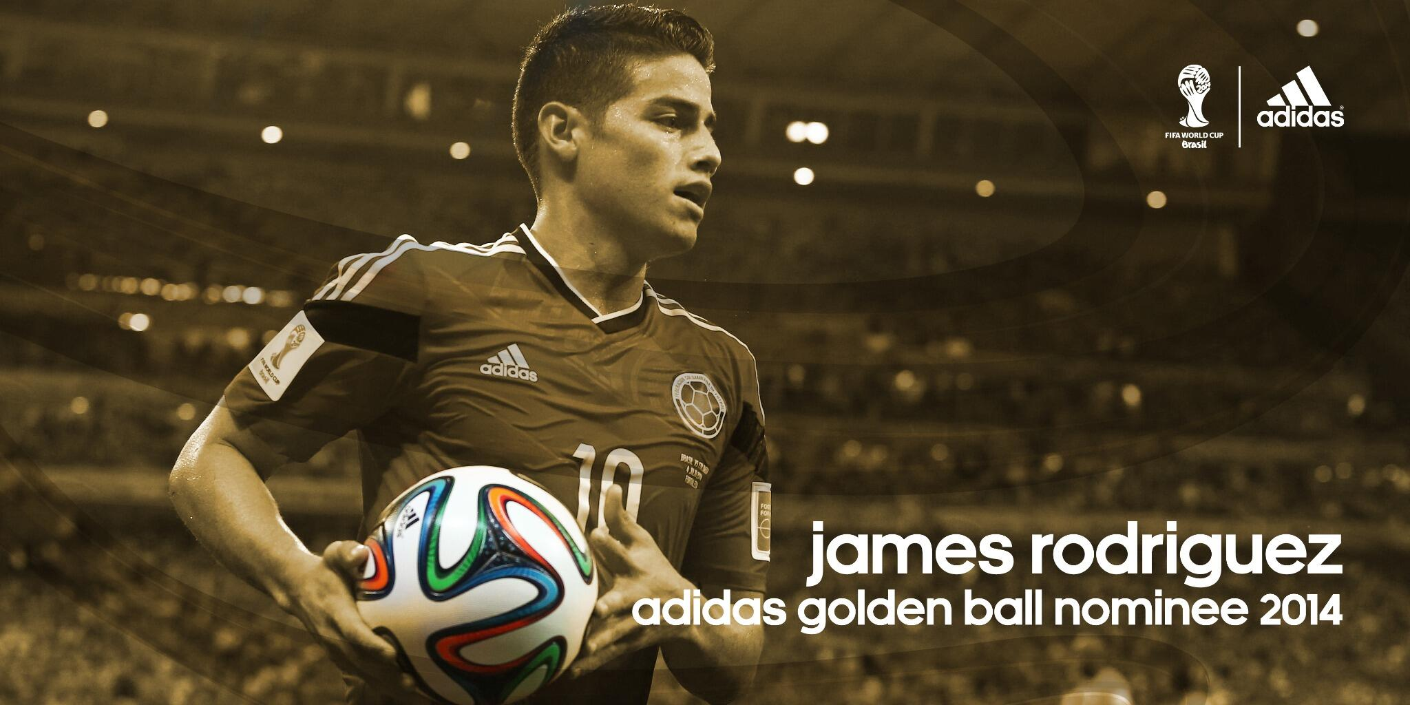 RT @brazuca: However good @jamesdrodriguez looked at the @FIFAWorldCup I can tell you he was better. #GoldenBall #Superstar http://t.co/oFL?