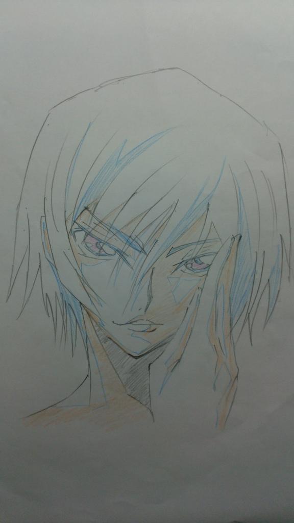 うまま!!!(制作さまですこのかた)(笑) RT @yajimaru0817: 久々に大好きなルルーシュ描いた http://t.co/ncWX26ci8a