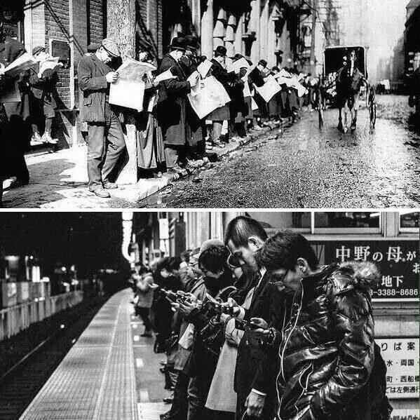 Does technology change people? h/t Peter van der Werff http://t.co/8RPw0qpFcL