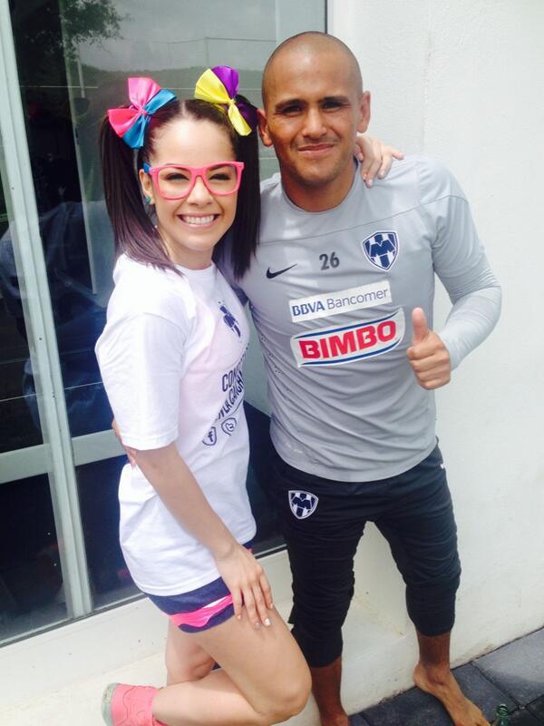 Maruca (@MarucaGalindo): Con el goleador @humbertosuazop @Rayados http://t.co/eAJ6WhnpIE